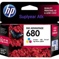 TINTA HP 680 COLOUR INK CARTRIDGE ORIGINAL