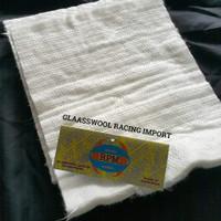 glasswool knalpot racing glasswool tahan bakar