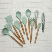 COOKING SET 11IN1 11 IN 1 SILIKON TURNER SUTIL SODET SPATULA SILICONE