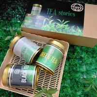 Paket Teh putih Black tea dan Green Tea Premium