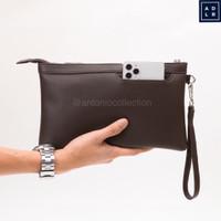 Handbag Pria Wanita / Tas Tangan / Pouch / Clutch Gadget Ipad Hand Bag