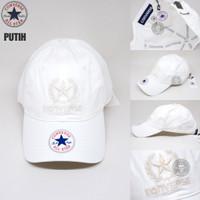 topi baseball CONVERSE chuck taylor all star 7 warna UNISEX (FREE BOX) - Putih