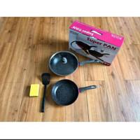 BOLDE SUPER PAN SUPERPAN GRANITE 5PCS SET BLACKPINK BLACK PINK SETS