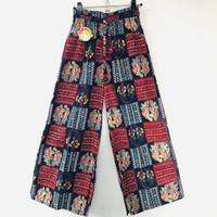 Celana Kulot Panjang Batik Anak Perempuan Tanggung 12-13 Thn (2 Warna)
