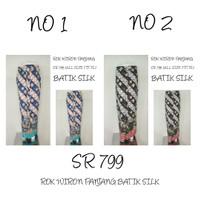 SR 799 Bawahan Rok Wiron Panjang Batik Silk Supplier Bawahan Rok Murah