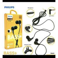 Earphone philips AT-36 bass headset hanphone handfree