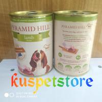 Makanan Anjing Basah/ Pyramid Hill Lamb Dogfood Kaleng 400 gram