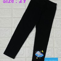 Legging anak perempuan 2 tahun celana capri 7/8 cewek murah branded