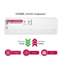 AC LG T06 EV4. dual inverter 1/2 PK + Pasang +Vakum Pipa Premiun 3M