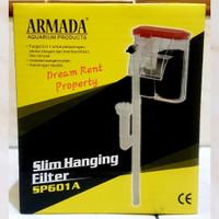 Slim Hanging Filter Aquarium Akuarium 3in1 ARMADA SP-601A 601