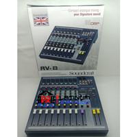Mixer Audio SOUNDCRAFT RV8 / RV 8 / RV-8 Bisa USB MP3 Promo Mixer 8CH