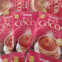 DELFI HOT COCOA COKLAT INDULGENCE 3 IN ONE 25 GRAM -