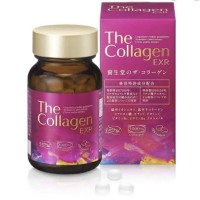 Shiseido The Collagen EXR Beauty 126 Tablet Original Jepang