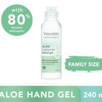 WARDAH ALOE HYDRAMILD HAND GEL 80% ALKOHOL 240 ML