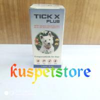 Obat Kutu Anjing TICK X PLUS 10ml