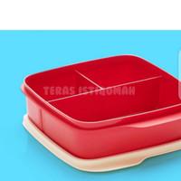 Tupperware Lolly Tup kotak makan/tempat bekal - Merah