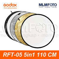 GODOX 5 IN 1 110CM COLLAPSIBLE REFLECTOR RFT-05 5IN1 ROUND CIRCLE 110