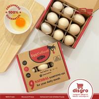 Eggcellent Telur ayam kampung premium red yolk telur ayyomi