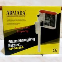 Slim Hanging Filter Aquarium Akuarium 3in1 ARMADA SP-602A 602