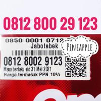 Nomor Cantik Simpati telkomsel 4G LTE seri 0812 800 xx 123