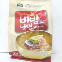 Baekje Bibim Nang Myeon / Mie Dingin Dengan Saus Pedas 448gram