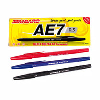 Pulpen Standard AE7 0.5mm - 12 pc
