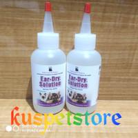 Pembersih Telinga Anjing&Kucing/ Obat Tetes PPP Ear Dry Solution 118ml