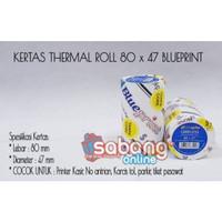 Paper Thermal Blueprint 80x47 / Kertas Thermal Printer