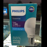 Philips lampu bohlam led essential 7 watt