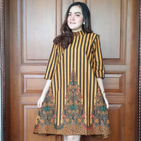 woman dress batik elegant