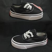 Sepatu Anak Vans Authentic Classic Black White Premium BNIB