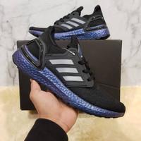 Adidas ultraboost 2020 Black Blue Metalic UA - Biru, 39
