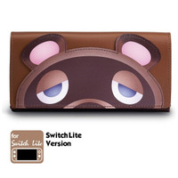 FUNLAB LEATHER CARRYING CASE FOR NINTENDO SWITCH LITE - TOMNOOK