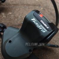 Shifter tiagra 2 speed kiri troy brompton noris ecosmo sepeda lipat