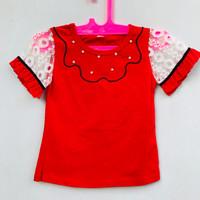 Baju Atasan Anak Perempuan Usia 2-3 Tahun