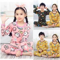 Piyama Anak Motif 1 - 6 Tahun Setelan Baju Anak Laki Laki/Perempuan
