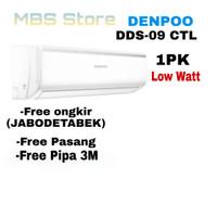 AC Split DENPOO PLATINUM 1 PK DDS 09 CTL IONIZER Goldfin LOW WATT