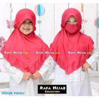 Hijab Anak Nikob Pet Tali 4-8Th - Kerudung Anak - Hijab Anak Perempuan
