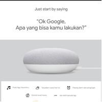 Google Nest Mini 2 garansi tam 1tahun