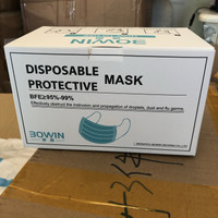 Surgical Mask 3 ply Masker Bedah CE FDA