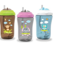 Baby Safe Sipper Cup With Weighted Straw FS405 (botol minum bayi)