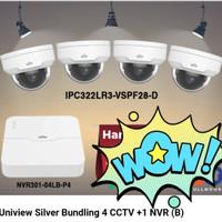 Uniview paket 4 CCTV Indoor + 1 NVR (B)