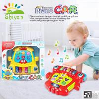 mainan edukasi anak bayi musik piano dan suara hewan baby education