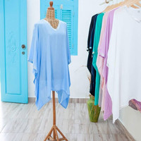 Carolie Blouse Blue
