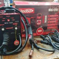 REDBO MIG 120 T Mesin Las CO Flux Core Tanpa Gas CO2 MAG