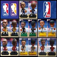 Miniatur Figure Soccerwe+ Pemain Basket NBA