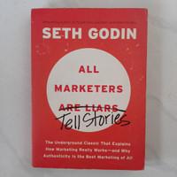 Buku All Marketers Tell Stories by Seth Godin