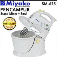 MIYAKO mixer hand/stand mixer SM 625 MIYAKO.3,5LITER - Kuning