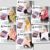 Hijab jilbab kerudung segi empat basic voal by umama scraf