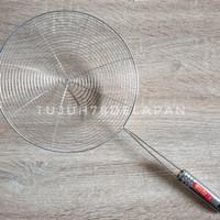Saringan Parabola 22cm Fujika/ Serok Jaring Gorengan/Saringan Stainles
